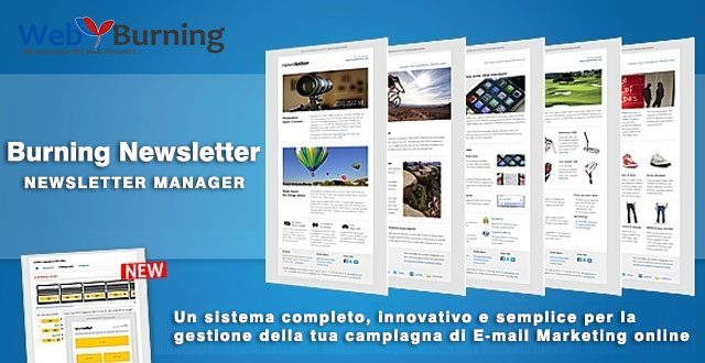 Newsletter Manager - Mailing list manager